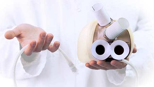 Læger på Rigshospitalet implanterer det første kunstige hjerte