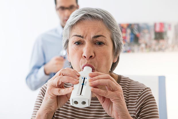 Nedgang i antallet af spirometri i almen praksis under covid-19